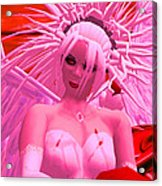 Pink Angel Askolda Acrylic Print