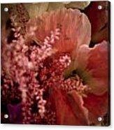 Pink Arrangement Acrylic Print