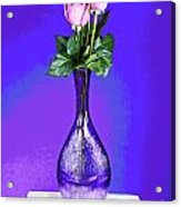 Pink Blues Acrylic Print