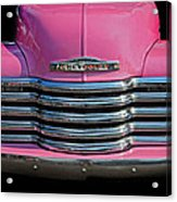 Pink Chevrolet Truck Acrylic Print