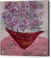Pink Explosion Acrylic Print