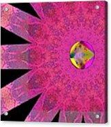 Pink Ribbon Of Hope Acrylic Print