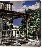 Pioneer House Acrylic Print by Danuta Bennett