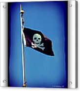 Pirate Flag Acrylic Print