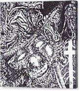 Pirate Monkey Squid Clam Acrylic Print