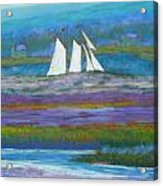 Pirates On The Lahave River Acrylic Print by Rae  Smith PSC