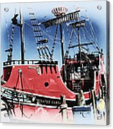 Pirates Ransom - Clearwater Florida Acrylic Print