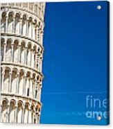 Pisa Leaning Tower Acrylic Print