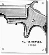 Pistol, 19th Century Acrylic Print