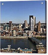 Pittsburgh Panoramic Acrylic Print