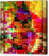 Pixels Acrylic Print