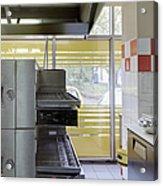 Pizzeria Kitchen Acrylic Print