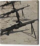 Pk General-purpose Machine Guns Stand Acrylic Print