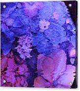Planet Of Flowers Acrylic Print