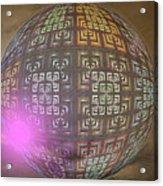 Planet X321z4 Acrylic Print