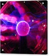 Plasma Hand Acrylic Print