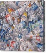 Plastic Bottles Acrylic Print