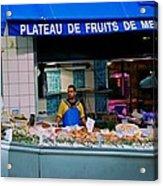 Plateau De Fruits De Mer Acrylic Print