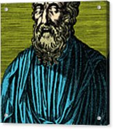 Plato, Ancient Greek Philosopher Acrylic Print