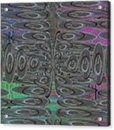 Platter Pandemonium Acrylic Print