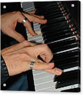 Play Me A Song Piano Man Acrylic Print