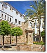 Plaza De La Iglesia In Marbella Acrylic Print