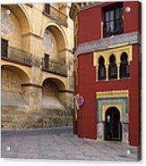 Plaza Del Triunfo In Cordoba Acrylic Print