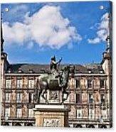 Plaza Mayor Acrylic Print