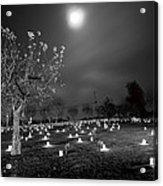 Pleasant Hill Luminaries Acrylic Print