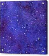 Pleiades Acrylic Print by Sharon Farber