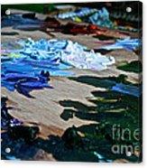 Plein Air Palette Acrylic Print