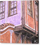 Plovdiv Old Town Acrylic Print