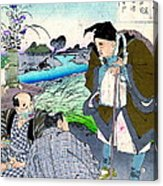 Poet Matsuo Basho 1881 Acrylic Print