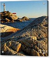 Point Atchison Lighthouse 1 Acrylic Print