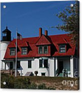 Point Betsie Light Station Acrylic Print
