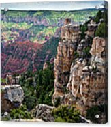 Point Imperial Cliffs Grand Canyon Acrylic Print