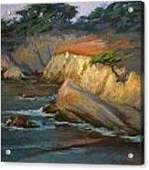 Point Lobos Last Light Acrylic Print
