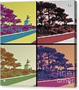 Point Loma Lighthouse Warhol Acrylic Print