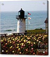 Point Montara Lighthouse Vista Acrylic Print