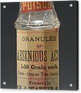 Poison Circa 1900 Acrylic Print