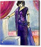 Pola Negri Acrylic Print