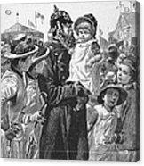 Policeman, 1885 Acrylic Print