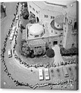 Polio Immunization, Aerial View, 1962 Acrylic Print