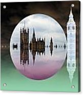 Political Bubble Acrylic Print