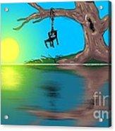 Political Sunrise Acrylic Print