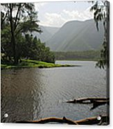 Pololu Valley Off Awini Trail Acrylic Print
