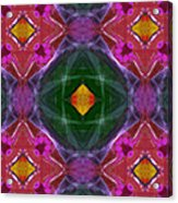 Polychromatic Arabesque Acrylic Print