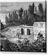 Pompeii: Stairs, C1830 Acrylic Print