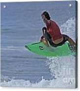 Ponce Surfer Soar Acrylic Print