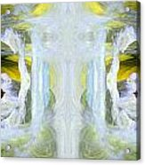 Pond In Fairyland Acrylic Print
